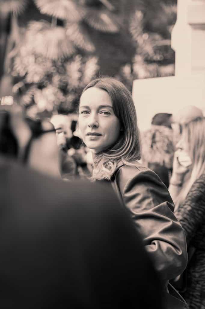 Cristiana Capotondi (@cristianacapotondi) in Alberta Ferretti